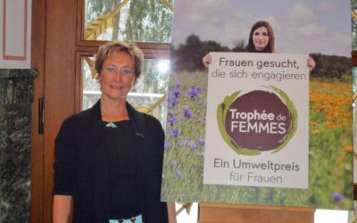 """Andrea Steffen erhält Umweltpreis """"Trophée de femmes"""""""