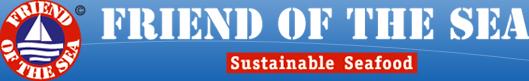 Logo des nachhaltigen Fischlabels Friend Of The Sea.