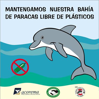 Poster zur Anti Plastik Kampagne - 2016.