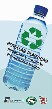 4000 Info-Broschüren 'Plastikflaschen: Problem und Lösung in unseren Händen' wurden an die Bevölkerung verteilt.