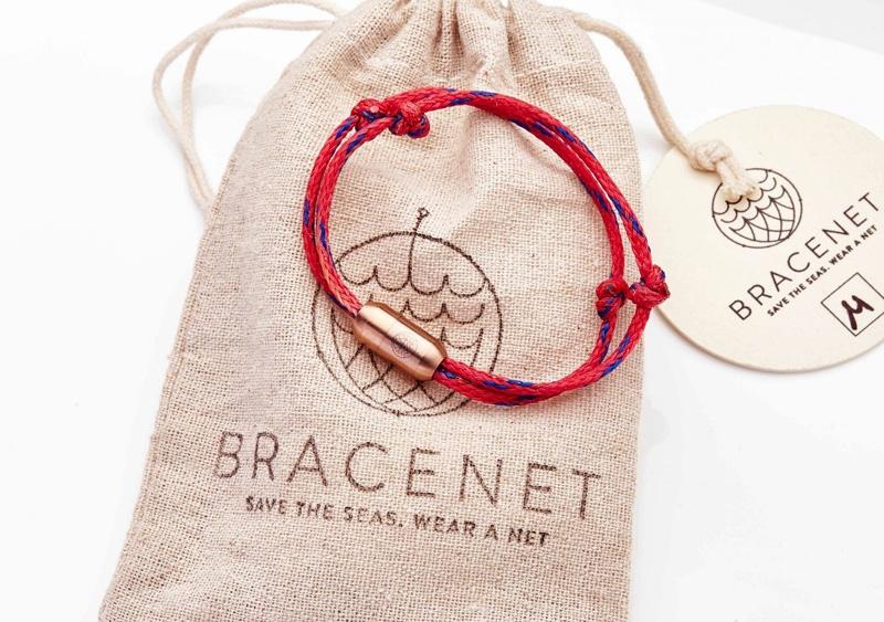 Bracenet RED SEA Rosé Gold