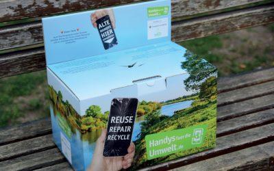 """""""Handys für die Umwelt"""": Neuer Sammelpartner in München"""
