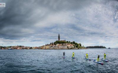 Stand Up Paddler bewältigen Extremtour rund um Istrien