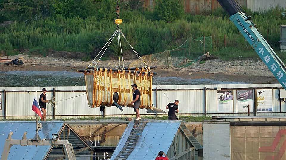 """Weitere Orcas aus """"Wal-Gefängnis"""" in Russland wieder in Freiheit"""