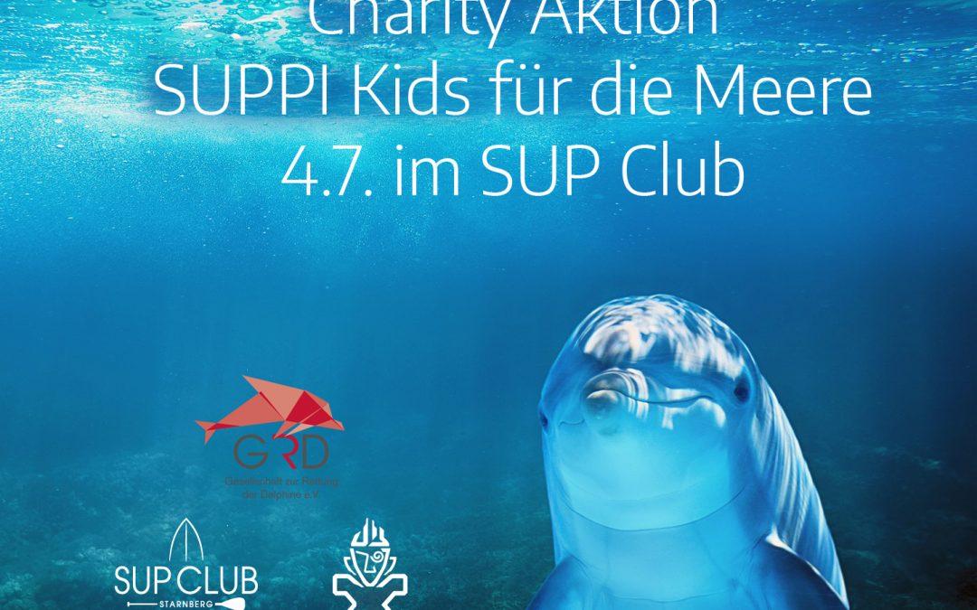 Charity Aktion: Suppi Kids für die Meere