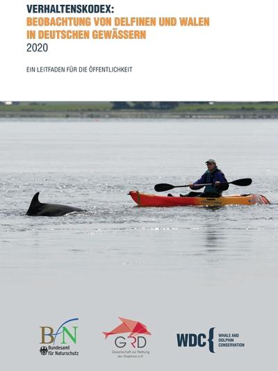 Die Leitlinien zur Beobachtung von Walen und Delfinen in Deutschland gelten auch für den Delfin in der Eckernförder Bucht!