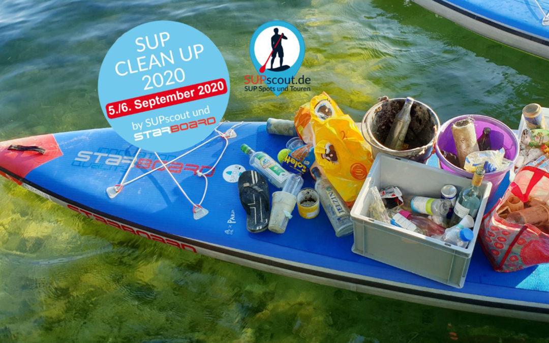 Müllsammelaktion: Stand up Paddler halten die Gewässer sauber