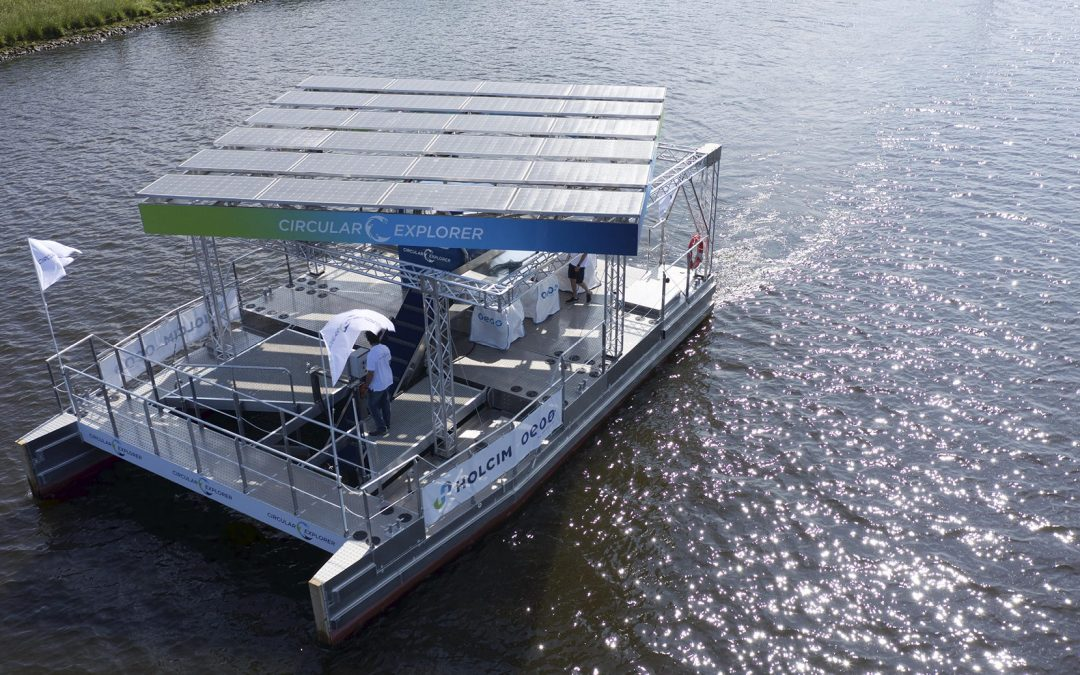 Erster Einsatz in der Ostsee: Solarbetriebenes Müllsammelschiff geht an die Arbeit