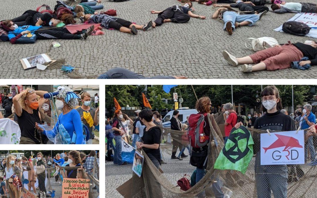 """GRD unterstützt """"Geisternetz""""-Aktion von """"Extinction Rebellion"""""""