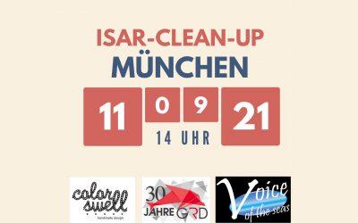 GRD organisiert Beach Clean-Up an der Isar