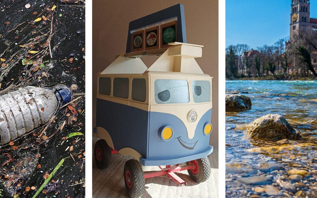 Pack ma´s: Beach Clean-Up an der Isar
